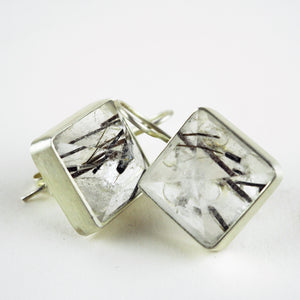 Starke, Bettina - Rutile Quartz Earrings | Bettina Starke | Primavera Gallery