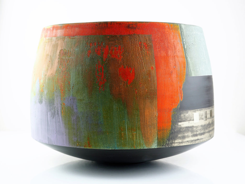 Laverick, Tony – Cylindrical Vessel | Tony Laverick | Primavera Gallery