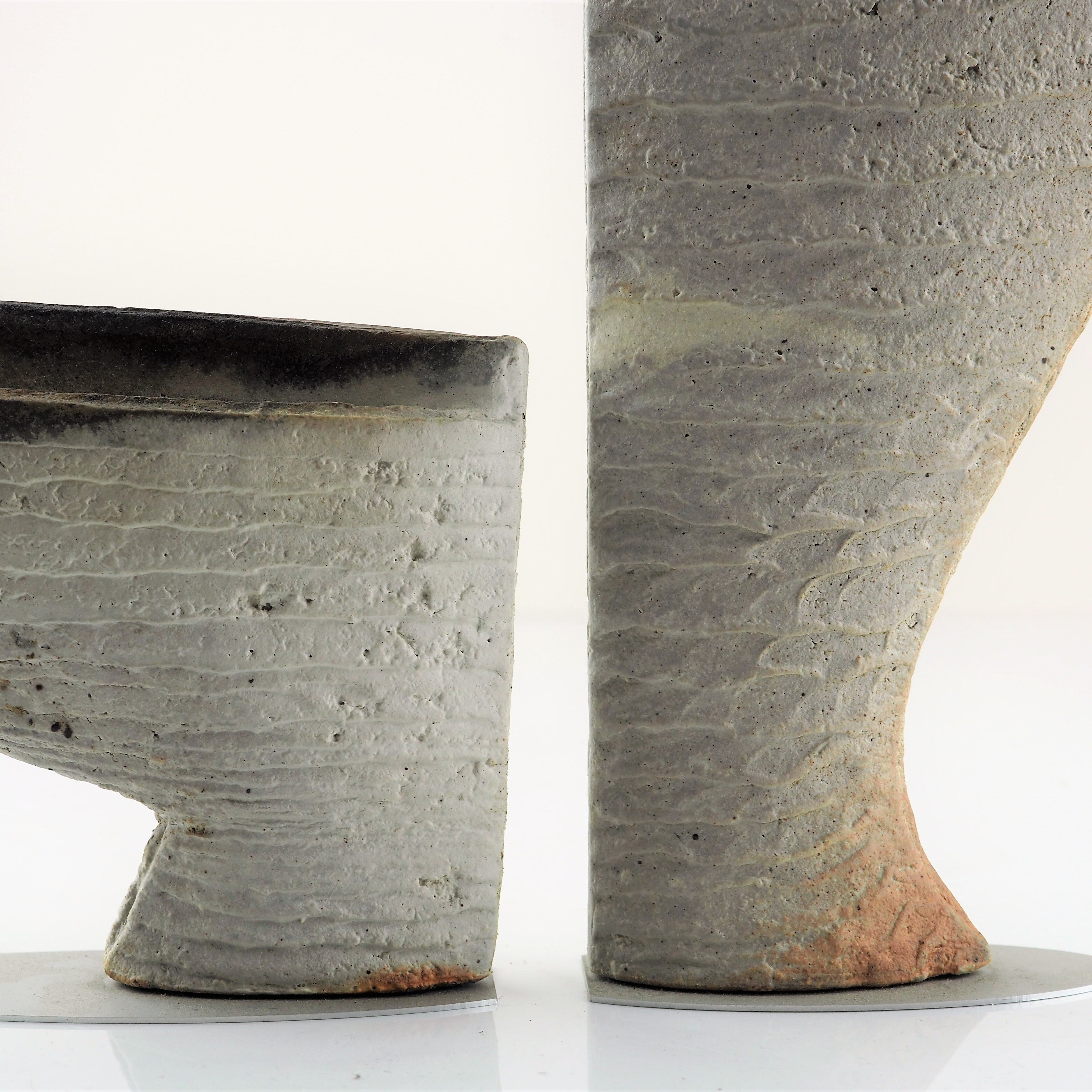 McWilliam, Martin – Half-Made Pair of Vessels | Martin McWilliam | Primavera Gallery