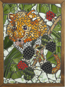 Morrell, Imogen - Dormouse, Blackberry Picking | Imogen Morrell | Primavera Gallery