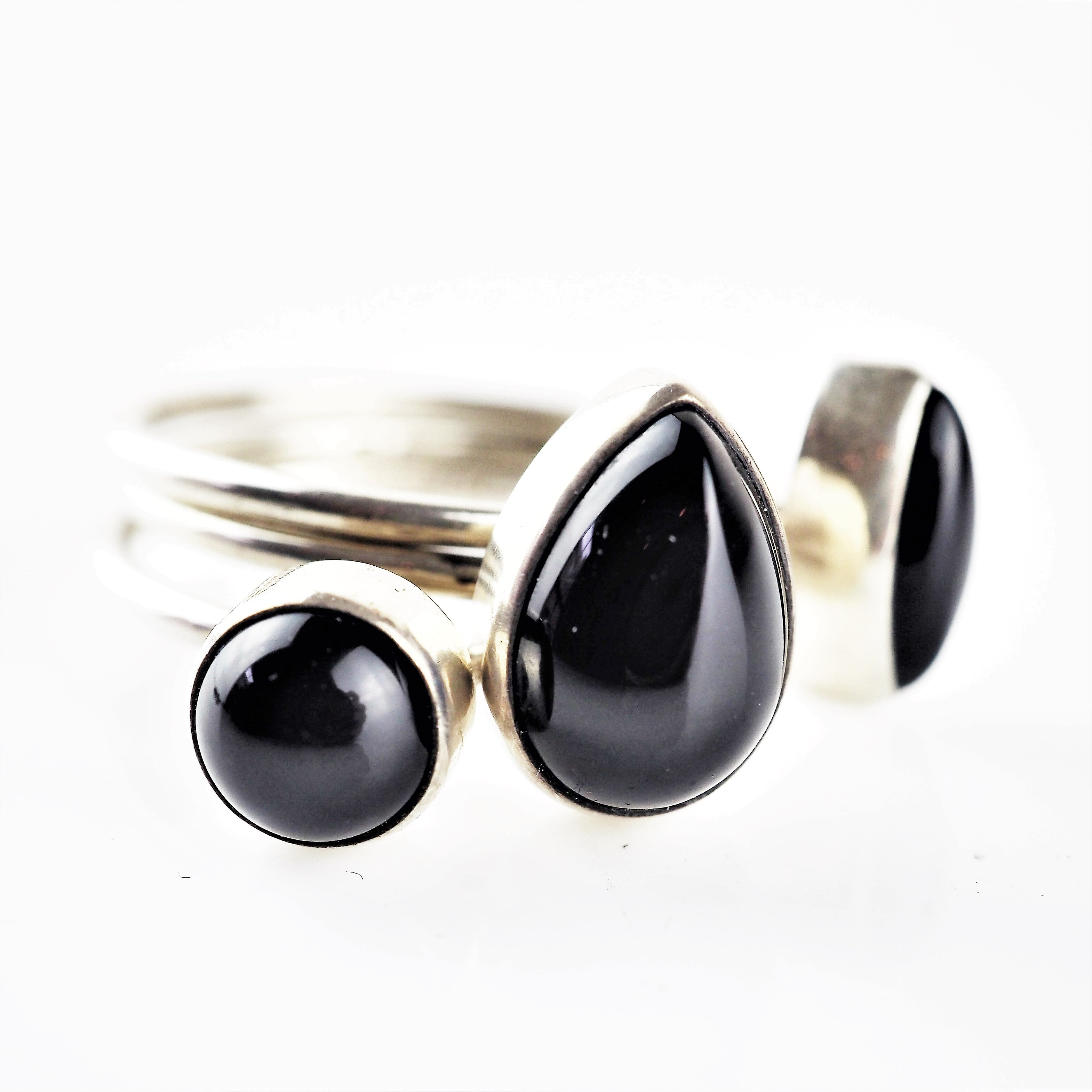 Ramshaw, Wendy – Onyx Six Ring Set