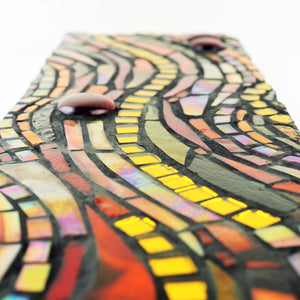 Hall, Kay – 'Lavaflow' Mosaic Panel | Kay Hall | Primavera Gallery
