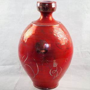 Caiger-Smith, Alan – Lustreware Handpainted Vessel | Alan Caiger-Smith | Primavera Gallery