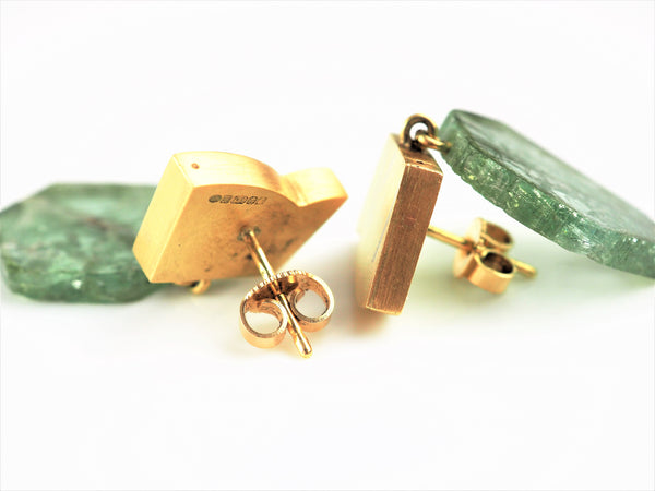 Mannheim, Catherine – Gold and Tourmaline Earrings | Catherine Mannheim | Primavera Gallery