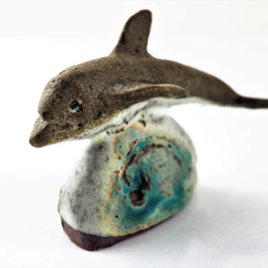 Brown, Fiona – Clay Dolphin | Fiona Brown | Primavera Gallery