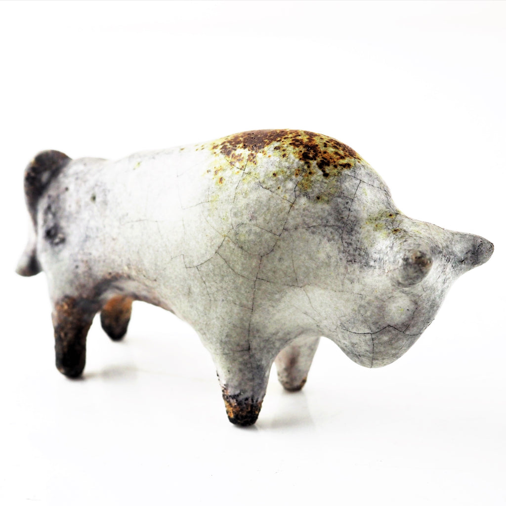 Brown, Fiona – Clay Bison | Fiona Brown | Primavera Gallery