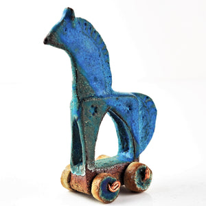 Brown, Fiona – Clay Toy Horse | Fiona Brown | Primavera Gallery