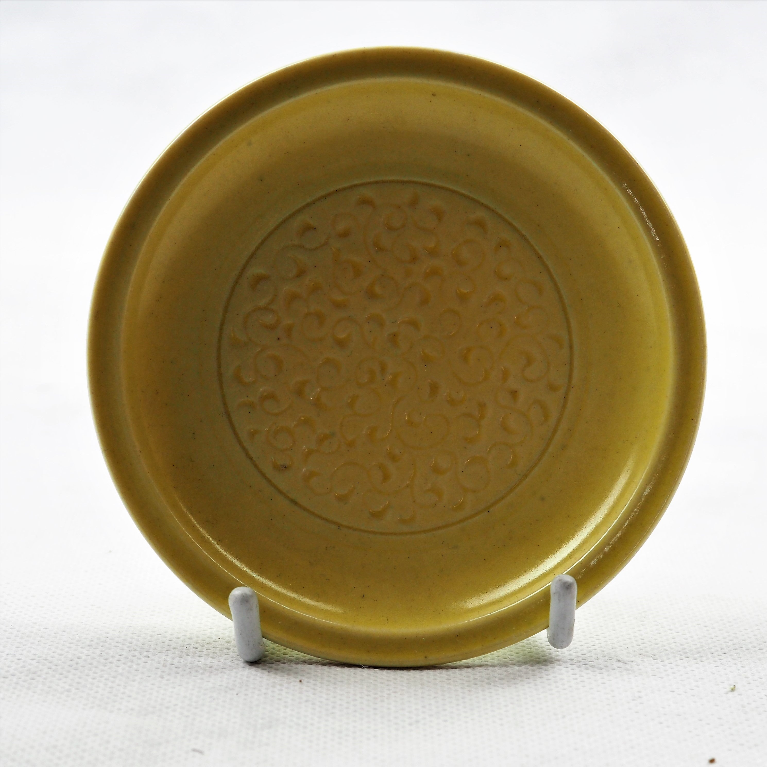 Spencer-Green, Alan – Small Yellow Porcelain Plate | Alan Spencer-Green | Primavera Gallery