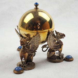 Jones, Sarah - Two Piece Gilded Silver Lidded Ornaments | Sarah Jones | Primavera Gallery