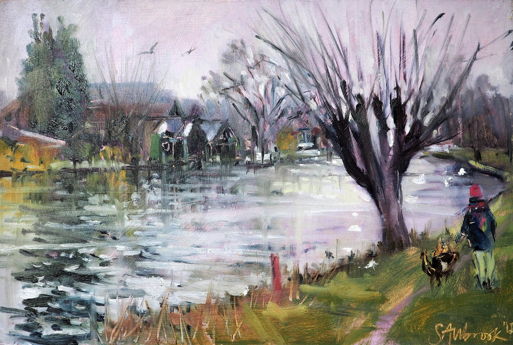 Allbrook, Sarah – 'Stourbridge Common' | Sarah Allbrook | Primavera Gallery