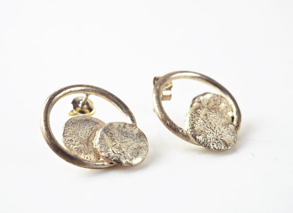 Herrero, Chloé – 'Imperfect' Silver Earrings | Chloe Herrero | Primavera Gallery