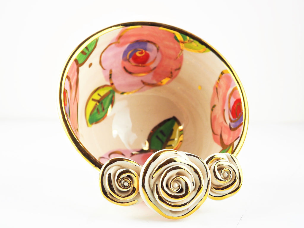 Rose Young, Mary – Rose Blush Bowl