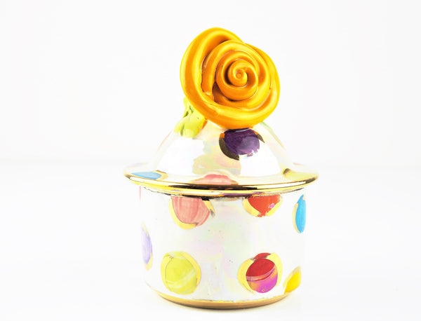 Young, Mary Rose – Rose Tangerine Sugar Bowl