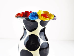 Rose Young, Mary – Spotted Flower Vase