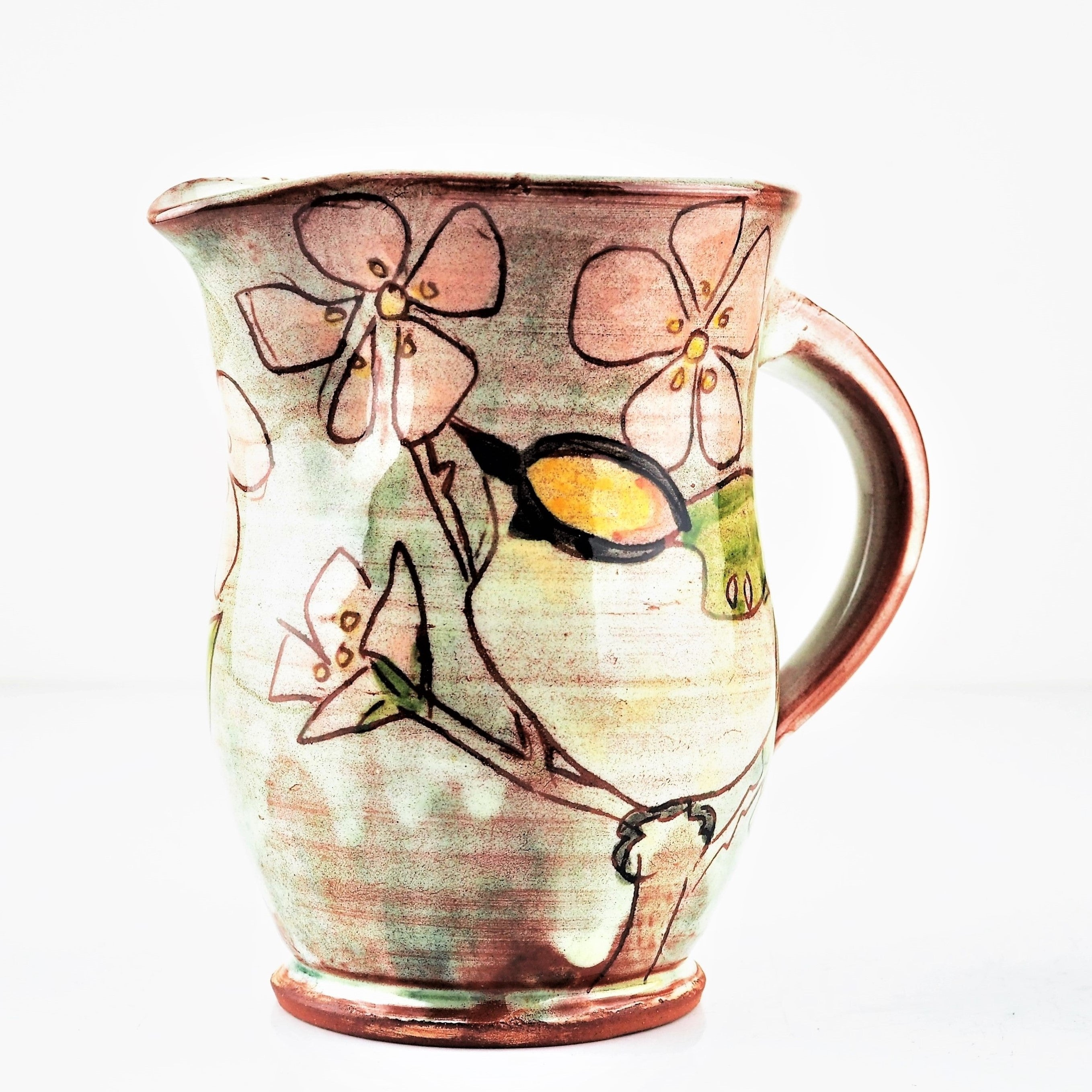 Hale, Jennie – Decorated Milk Jug | Jennie Hale | Primavera Gallery