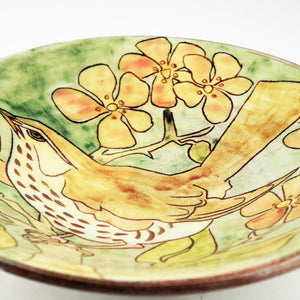 Hale, Jennie – Decorated Earthenware Bowl | Jennie Hale | Primavera Gallery