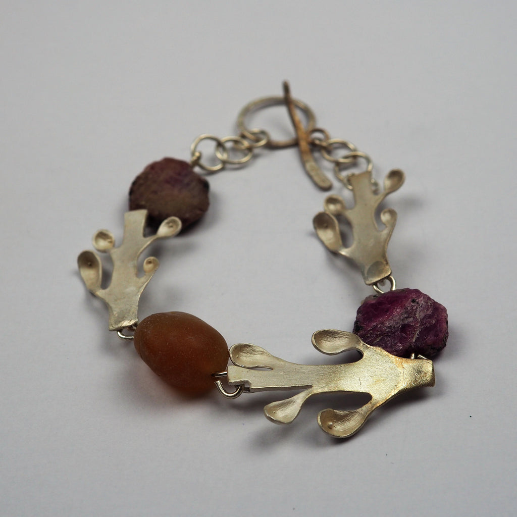 Copy of Ilett, Rebecca - Silver Bracelet With Stones