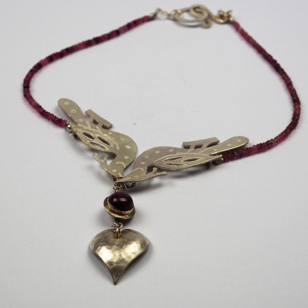 Ilett, Rebecca - Necklace With Silver Pendant