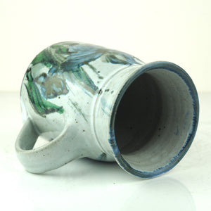 Kellam, Colin – Large Hand Painted Mug with Flower Design | Colin Kellam | Primavera Gallery