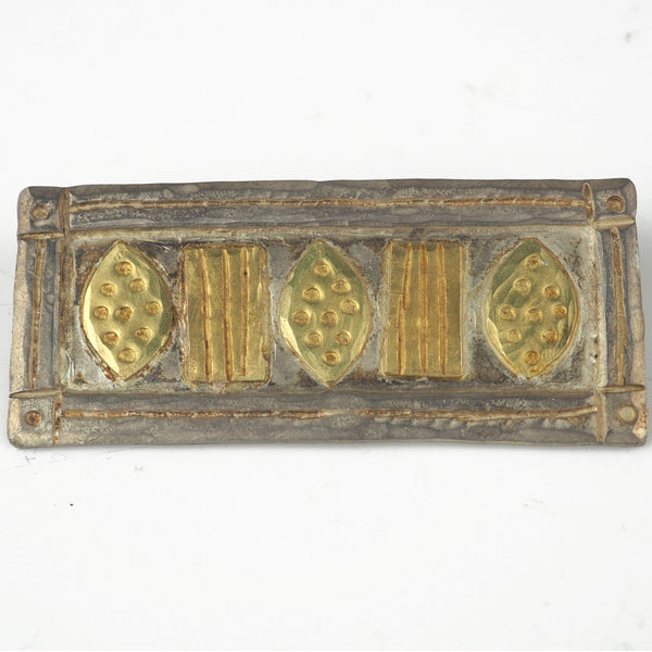 Royle, Guy – Gold and Silver Brooch