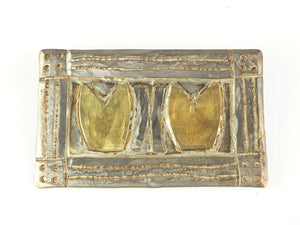 Royle, Guy – Gold and Silver Brooch | Guy Royle | Primavera Gallery