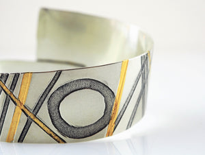 Briggs, Jessica – 'Threads & Circles' Bangle | Jessica Briggs | Primavera Gallery