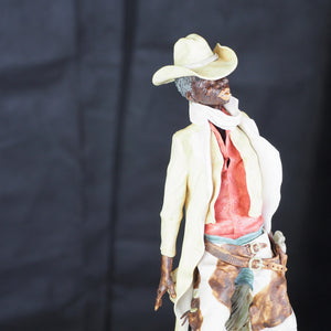 Whitaker, Peter  - Cowboy Sculpture