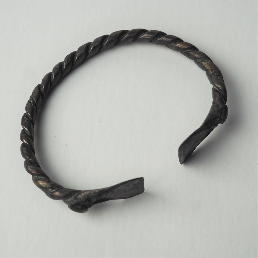 Bronze Age or Celtic - Silver Bangle