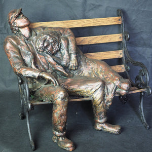 Joseph, Esther - Homeless Man On Bench