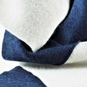 Hardy, Sandra – Navy and Cream Scarf | Sandra Hardy | Primavera Gallery
