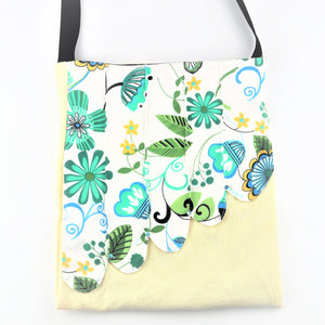 Rickard, Anne - Tote Bags - Green and White | Anne Rickard | Primavera Gallery