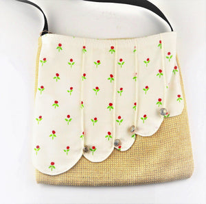 Rickard, Anne - Tote Bag - Red and Green | Anne Rickard | Primavera Gallery