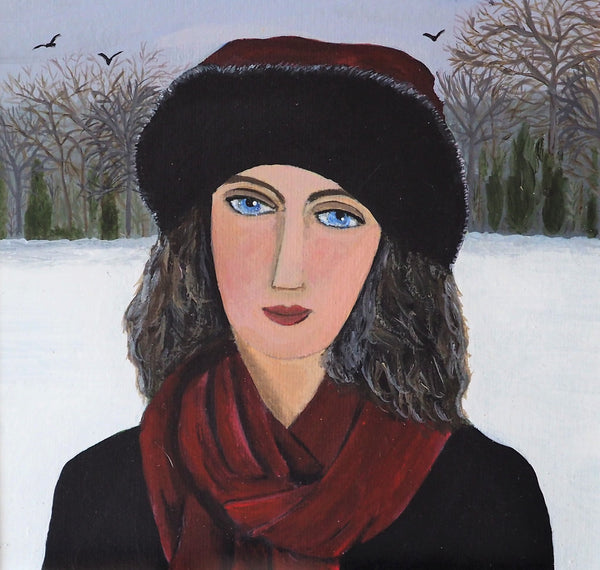 Cooper, Marcella - Winter Walk | Marcella Cooper | Primavera Gallery