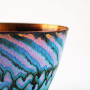 Johnson, Pat – Medium Enamelled Copper Bowl | Pat Johnson | Primavera Gallery