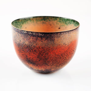 Johnson, Pat – Large Enamelled Copper Bowl | Pat Johnson | Primavera Gallery