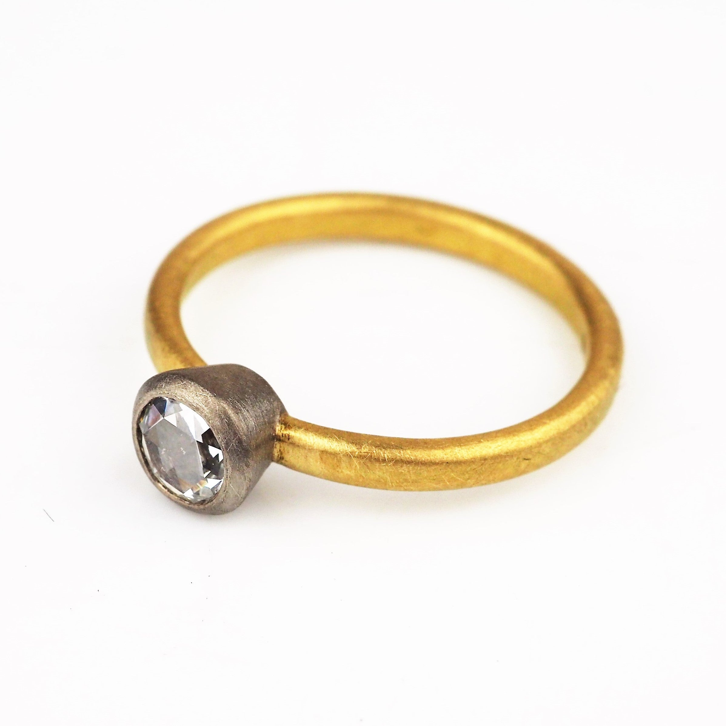 Harris, Natalie - White and Yellow Gold Ring | Natalie Harris | Primavera Gallery