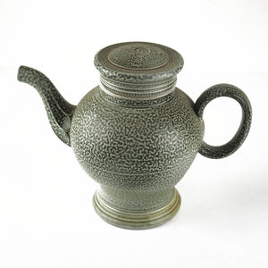 Harrison, Steve – Green Salt Glaze Tea Pot | Steve Harrison | Primavera Gallery