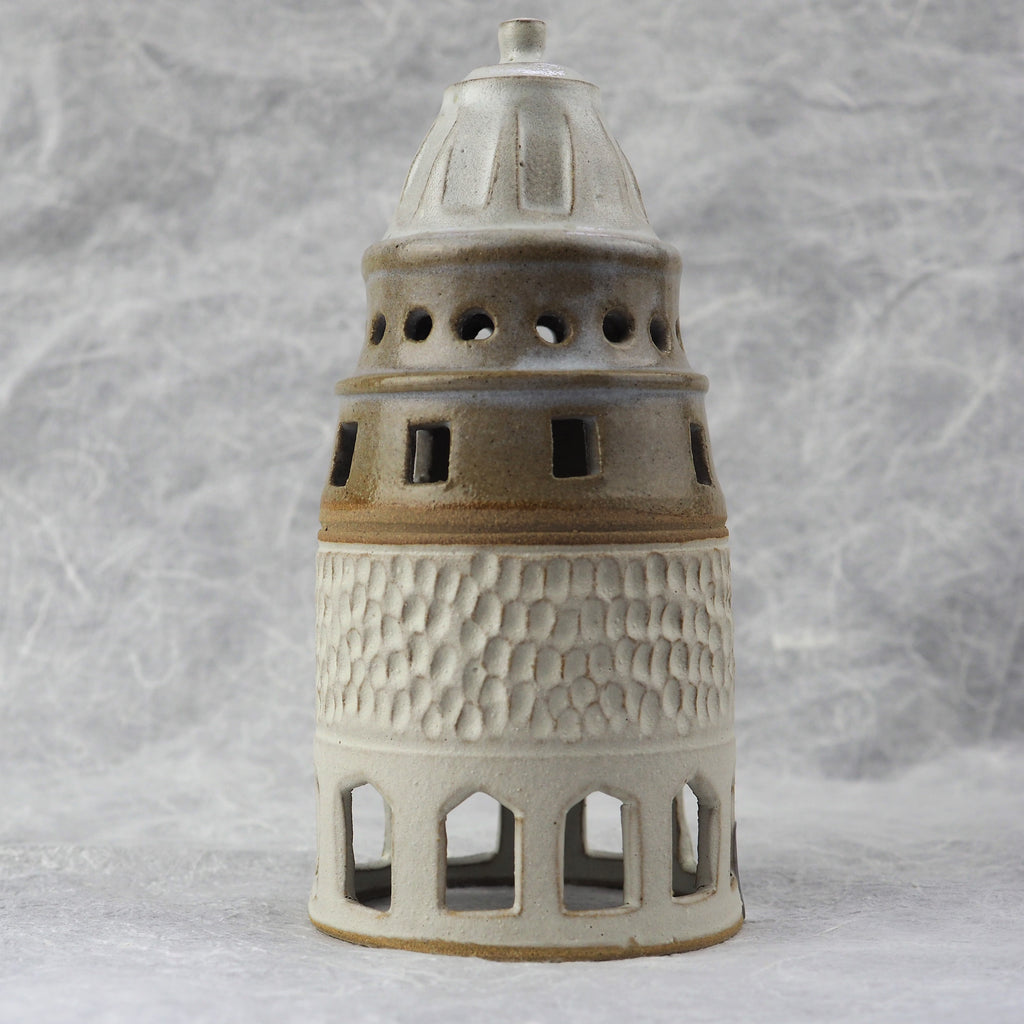 Chakravarti, Leela - Large Tower Candle Lamp