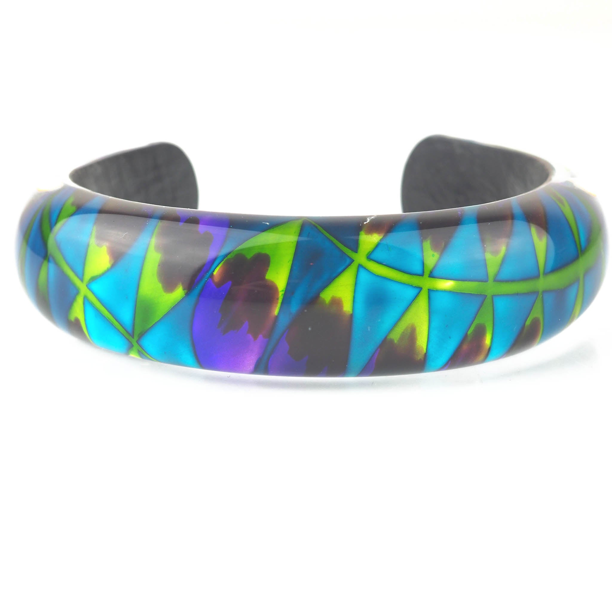 Park, Rowena – Turquoise Fern Bangle