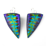 Park, Rowena – Turquoise Fern Leaf Shaped Earrings