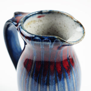 Goldsmith, Robert – Blue and Red Small Jug | Robert Goldsmith | Primavera Gallery