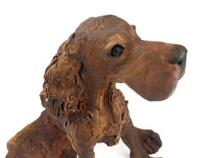 Cummings, Christine – Ceramic Red Setter | Christine Cummings | Primavera Gallery
