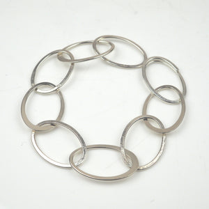 Latham and Neve – All Silver Bracelet | Latham & Neve | Primavera Gallery