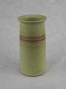Gant, Tony – Small Vase with Straw Yellow Glaze