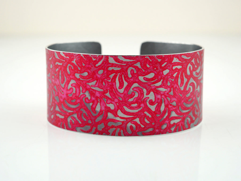 Rose Floral Imprint Bangle | Penny Warren | Primavera Gallery