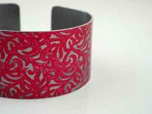 Warren, Penny – Rose Floral Imprint Bangle | Penny Warren | Primavera Gallery