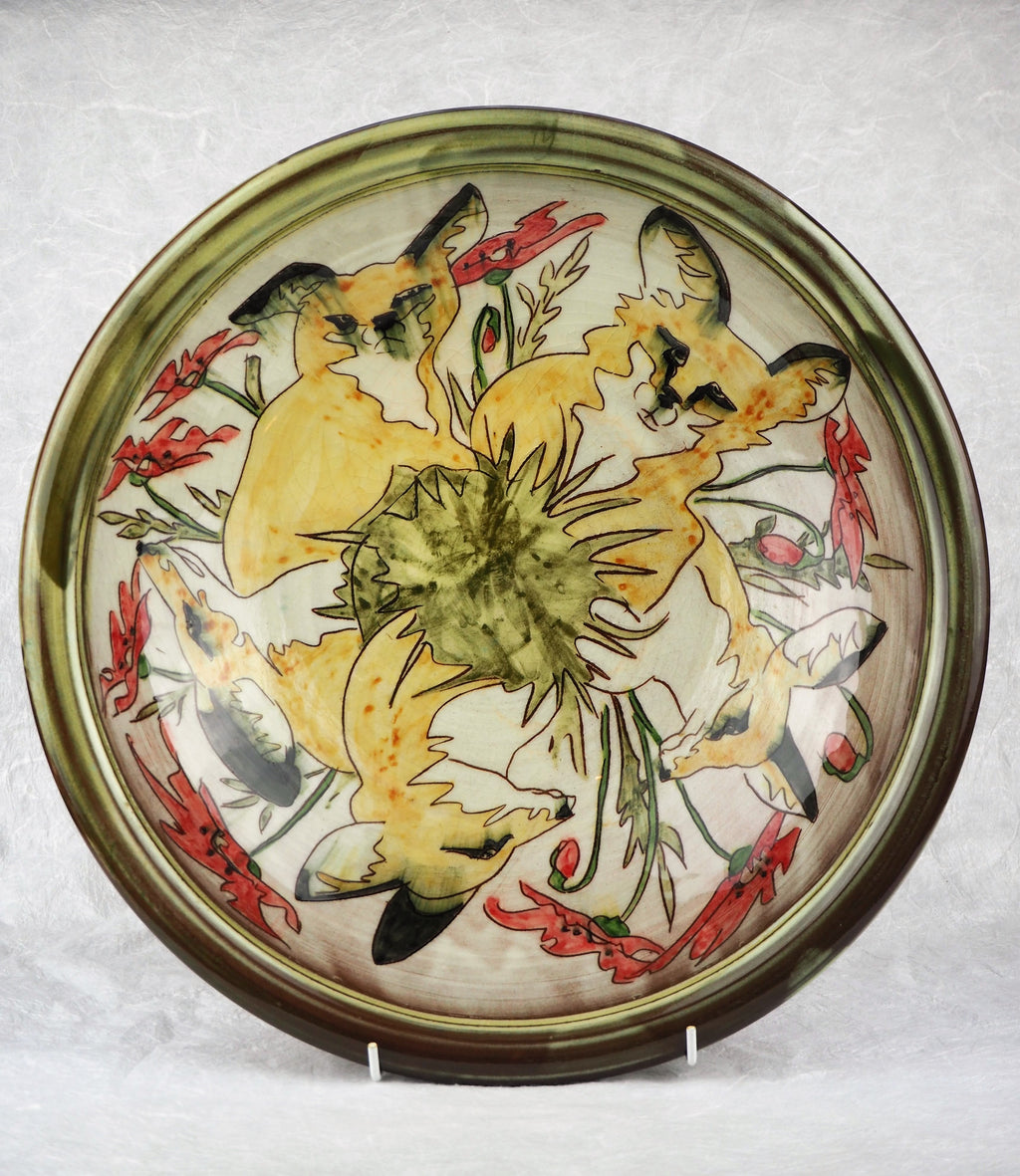 Hale, Jennie – Decorated Earthenware Dish