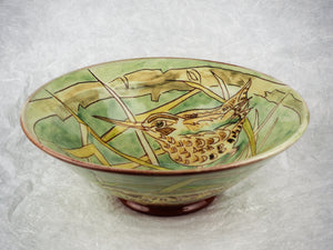 Hale, Jennie – Decorated Earthenware Bowl