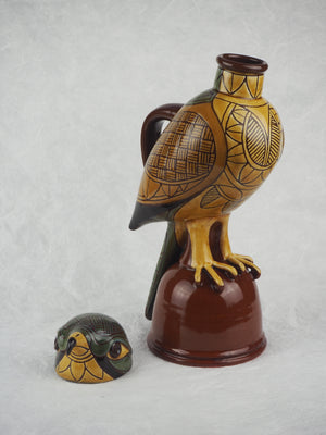Arthur, Phil – Lidded Kestrel Jug