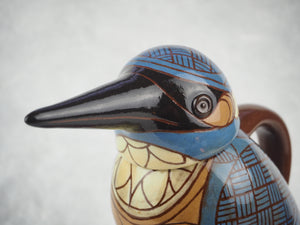 Arthur, Phil – Lidded Kingfisher Jug